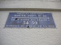 Plaque émaillée 59 Cambrai RN29