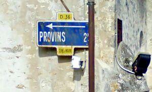 D236 (77) - Panneau Dunlop Saint-Brice