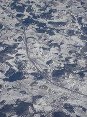 A75 - Col des Issartets Avion