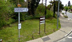 D40 (77) - Montcourt-Fromenville