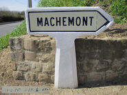 Poteau direction 60D015 - Machemont