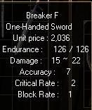 Breaker F3