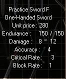 Practice Swordf