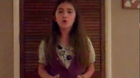 "Rowan Blanchard sings Adele's ""Someone Like You"""