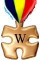 Fișier:Wikimedalia ro aur.png