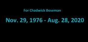 For Chadwick Boseman (Finding Tails Ending Scene)
