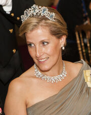 Sophie, Countess of Wessex luxembourg 2012