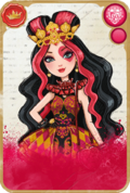 Lizzie Hearts Card