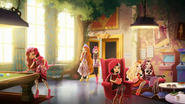 The games room - Poppy the Roybel