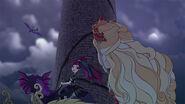 DG BTQ - raven apple around tower
