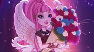 Cupid as Thronecoming Queen in Slovenia