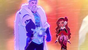 Wicked Winter - reenactment snow king, Briar
