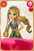 Jillian Beanstalk Royal Card