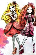 Book Art - Apple White and Briar Beauty2
