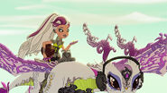 DG HTG - Melody rides dragon