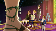 Tiny, Hunter, Daring, Sparrow and Dexter - Thronecoming