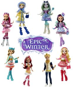 Epic Winter Dolls