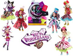 Way Too Wonderland Doll Group