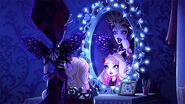 DG HTG - EQ brushing apple hair mirror reflection