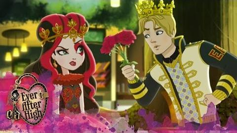 Lizzie Heart's Fairytale First Date Ever After High