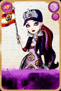 Raven Queen School Spirit Card