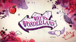 Way Too Wonderland Logo Royal and Rebel