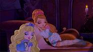 Moonlight Mystery - sleeping blondie and ash