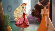 Way too Wonderland - Apple and Girl in Orange