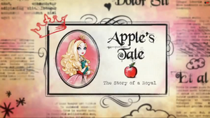 Apple's Tale the story of a Royal