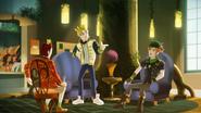 Hopper, Sparrow & Daring in the Hocus Latte Cafe