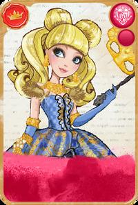 Blondie Lockes Thronecoming Card