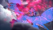 DG BTQ - crumpets ashlynn maddie being chased by dark dragon