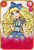 Blondie Lockes Card