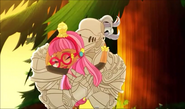 W.Knight Ginger hugging - SU