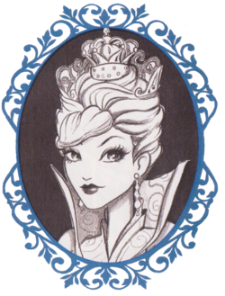 White Queen Book Art