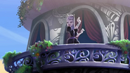 The Cheshire Cat on a balcony - SUT