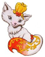Apple's pet snow fox, Gala