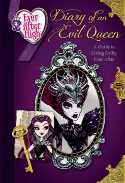 Diary of an Evil Queen, Cover