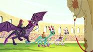 DG BTQ - raven landing to stadium