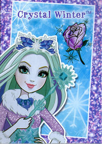 EW Crystal card