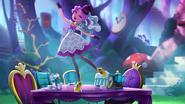 Maddie's Hat-Tastic Party - Maddie dances