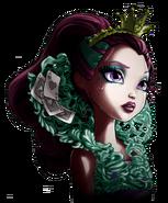 Profile art - Way Too Wonderland Raven close-up