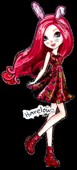 Profile art - Harelow