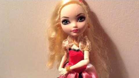 Fan Video Ever after high dolls