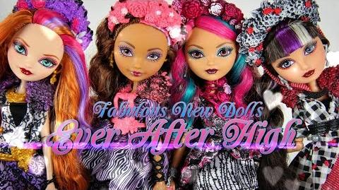 Doll Review Ever After High Spring Unsprung