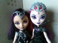 Raven and Mira Doll image Close-Up