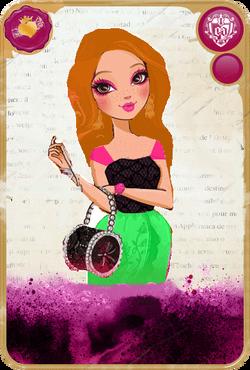 Violet Frozen Card