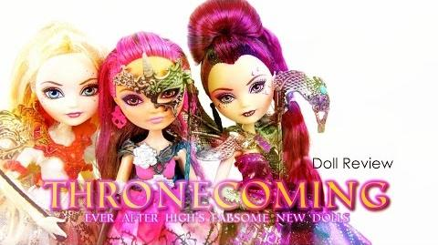 Doll Review Ever After High Thronecoming