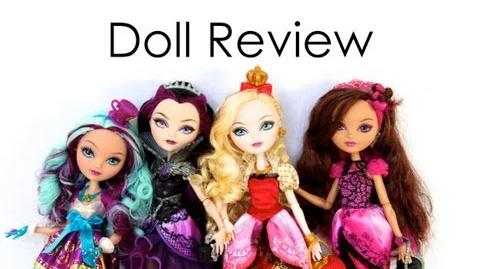 Doll Collection Review Ever After High The Red Gumball