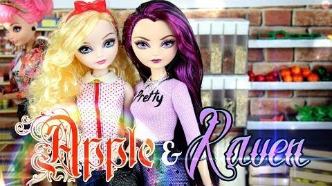 Custom Doll After Ever After High Apple & Raven - Doll Crafts